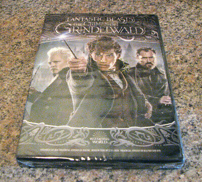 Fantastic Beasts: The Crimes of Grindelwald (DVD 2018) BRAND NEW IN STOCK NOW~