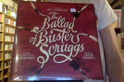 The Ballad of Buster Scruggs soundtrack LP sealed vinyl OST Carter Burwell