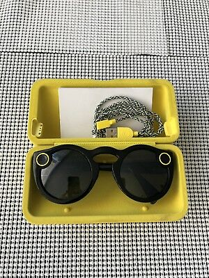 Snap Inc. Smart Glasses - Black || Snapchat Spectacles