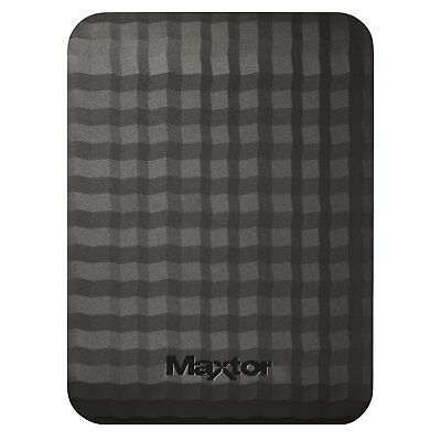 Seagate/Maxtor M3 Portable External Hard drive USB 3.0 high speed for PC MAC PS4