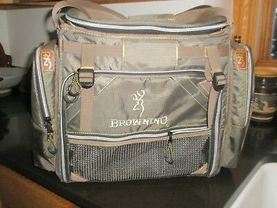 Browning Magnum Tackle System Bag With 8 Storage Bo