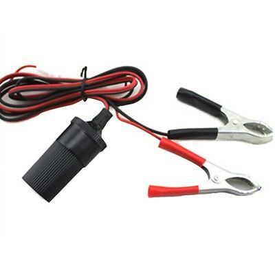 Car Cigarette Lighter Socket 12V Portable Power Plug Adapter Clip 15A 1.5m UK