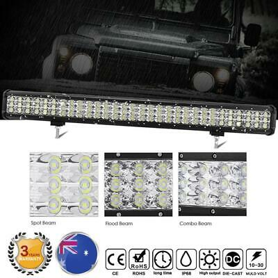 28inch Cree Led Work Light Bar Flood Spot Combo Beam 4x4WD For Jeep Offroad SUV