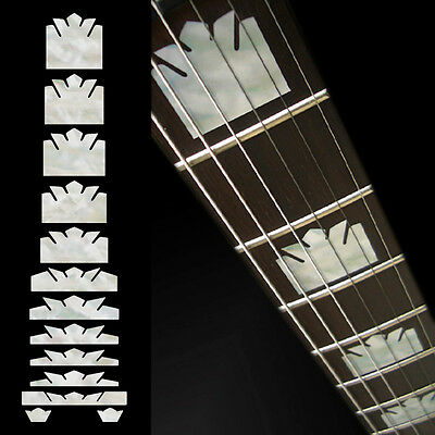 Inlay Stickers Decals Fret Markers For Guitar & Bass - EJ-200 Block Crown