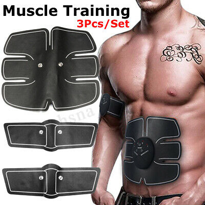 Rechargeable ABS Simulator EMS Training Smart Body Abdominal Muscle Exerciser
