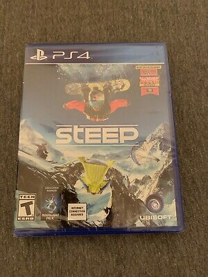 Steep (Sony PlayStation 4, 2016) Factory Sealed