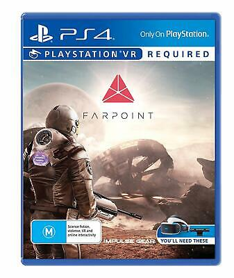 FARPOINT VR far point (PS4) NEW *free post* CHEAPEST