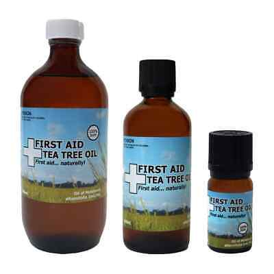 100% Pure Australian Tea Tree Oil, Family Farm, Aromatherapy Grade Essential Oil