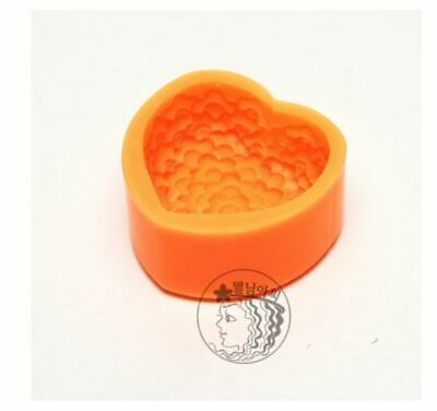 (Silicone Mould) plum Silicone soap Mould plaster Mold