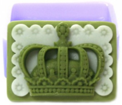 (silicone mould) crown-1 ball  Silicone soap Mould plaster Mold