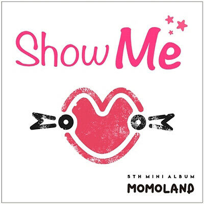 MOMOLAND [SHOW ME] 5th Mini Album CD+POSTER+Photo Book+2p Card K-POP SEALED