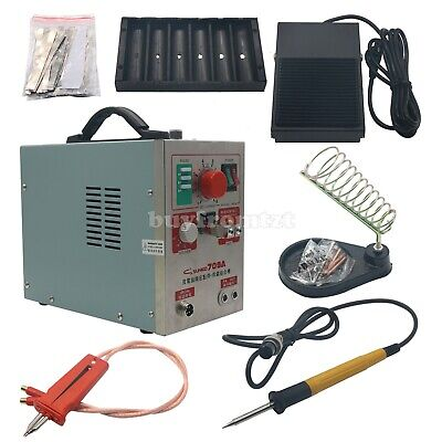 2 in 1 1.9kw Spot Welder Soldering Iron Staion 709A Battery Welding Machine XA80