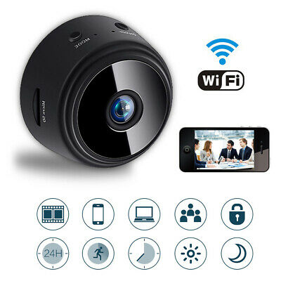 Wireless Mini HD 1080P Spy Camera  Wifi Security Cam Night Vision Motion Detects