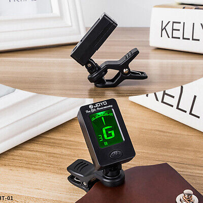 Digital Chromatic LCD Clip-On Electric Tuner for Acoustic Ballad Bass Guitar Too