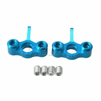 2Pieces Upgrade Parts EA1003 Steering Hub Carrier for JLB RC1:10 Largefoot Car