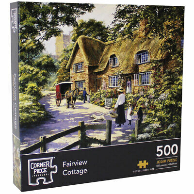 Fairview Cottage 500 Piece Jigsaw Puzzle, Toys & Games, Brand New