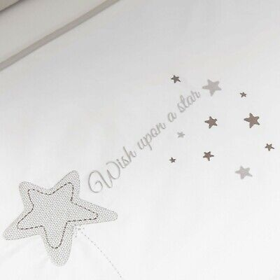 Silver Cross Cot/Bed Quilt Wish Upon A Star