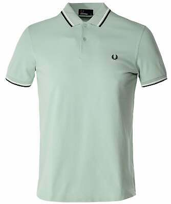 7379b4ea FRED PERRY MEN'S Twin Tipped Polo Shirt M3600 H40 - $71.99 | PicClick