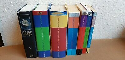 Harry Potter Complete book set (7 ) (paper & hardback first edition ) JK Rowling