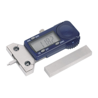 VS0563 Sealey Digital Tyre Tread Depth Gauge - VOSA Approved [MOT Equipment]