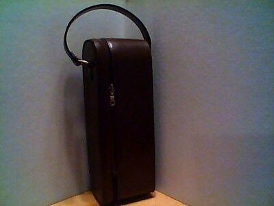 AMERICATEL Leather Wine Carrier/Wine Tote Bag