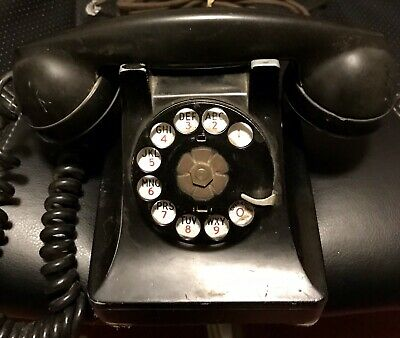 Western Electric 1940's Metal 302 Working Phone...WWII Vintage