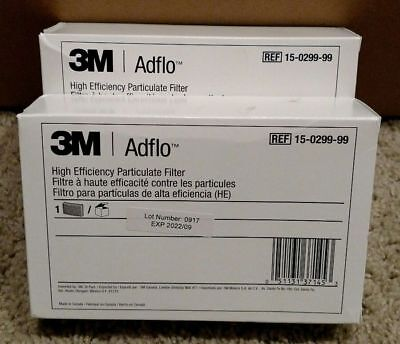 (4-PACK) 3M Adflo 15-0299-99 High Efficiency Particulate Filter SPEEDGLAS PAPR