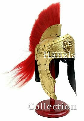 Medieval Greek Greece Roman Spartan King Leonidas 300 Movie Helmet