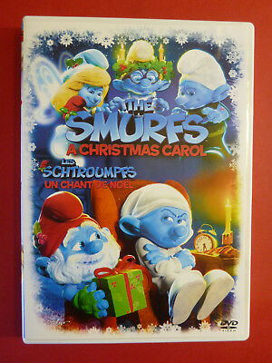 The Smurfs A Christmas Carol DVD Bilingual
