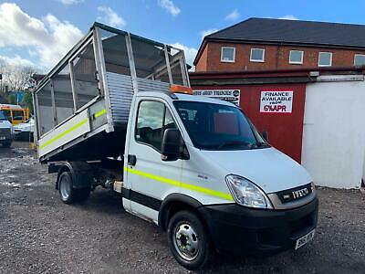 2011 (61) Iveco Daily 35C13 2.3 Hpi 11Ft Alloy Cadged Dropside Tipper Refuse