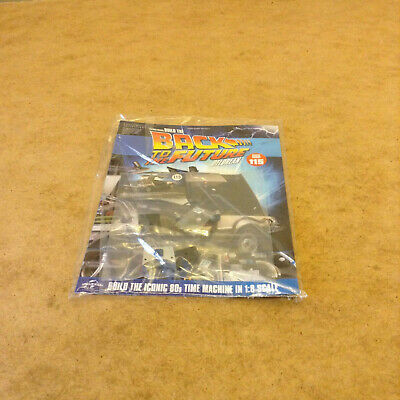 Build Back To The Future Delorean Time Machine Issue 115 1:8 Scale Diecast Parts