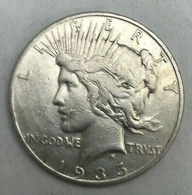 Better - 1935–S- Peace Silver Dollar - 90% US Coin *