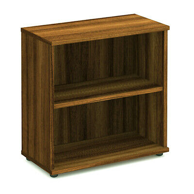 Impulse 800mm Bookcase Walnut