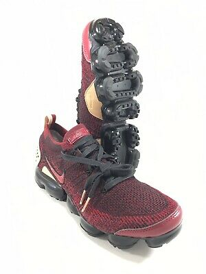 Nike Air Vapormax NRG Flyknit II Jacket Pack Red Black Size 9.5 Shoes AT8955-600