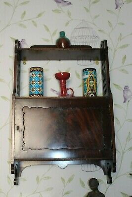 Aesthetic Movement / Arts and Crafts  shelf cabinet