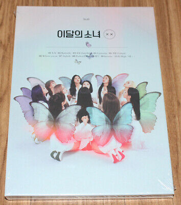 LOONA X X MINI ALBUM REPACKAGE LIMITED A Ver. CD + PHOTO CARD + FOLDED POSTER