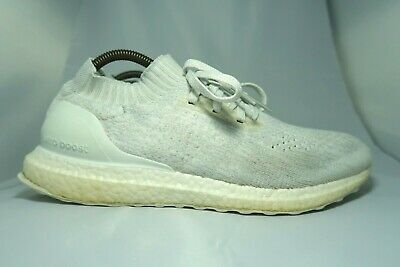 reputable site 97690 a780c ADIDAS ULTRA BOOST UNCAGED Men's White/Grey Running/Gym Trainers UK 9.5/EU  44
