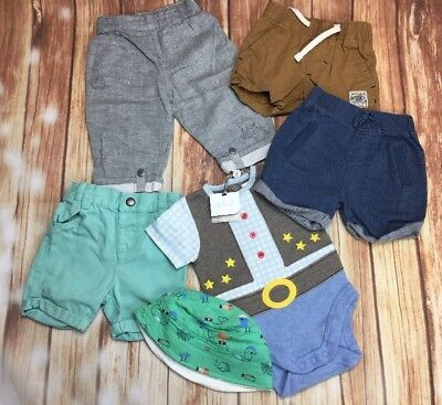Boy's Baby Clothing TU Mothercare Next M&Co F&F Summer Holiday Bundle 3-6 Months
