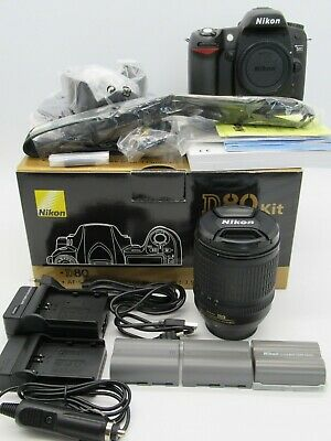 Nikon D D80 Kit AF-S DX 18-135mm Top Zustand