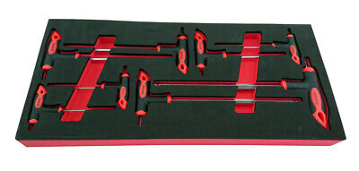 8 Piece T-Bar Allen (Hex) Key Set 2-10Mm From Britool Hallmark Hpkset8