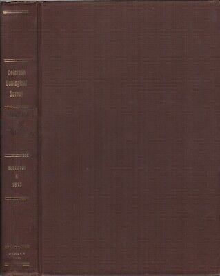 RD GEORGE / Colorado State Geological Survey BULLETIN 6 - COMMON MINERALS 1st ed