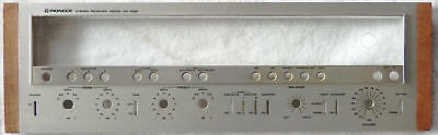 Front Panel for Pioneer SX-1050 Stereo Receiver, with good glass!