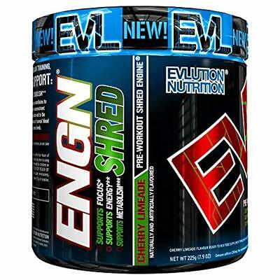 Evlution Nutrition ENGN Shred Pre Workout Thermogenic Fat Burner Powder, Energy,