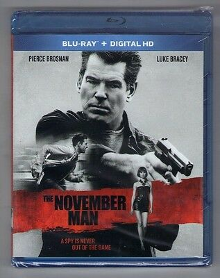 THE NOVEMBER MAN new blu-ray PIERCE BROSNAN OLGA KURYLENKO LUKE BRACEY