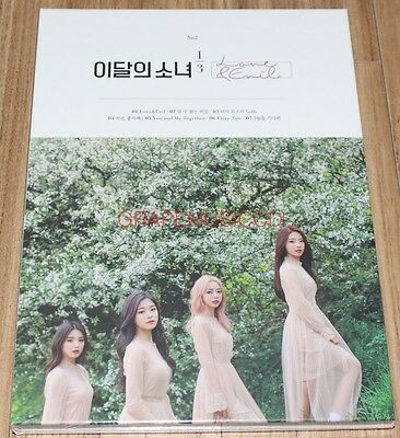 LOONA 1/3 Love & Evil 1st Album Repackage NORMAL CD + PHOTOCARD SEALED