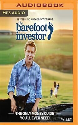 The Barefoot Investor: The Only Money Guide You'll Ever Need by Pape, S CD-AUDIO