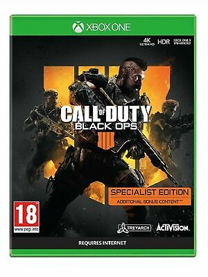 Call of Duty Black Ops 4 Specialist Edition Xbox One COD New & Sealed 1st Class