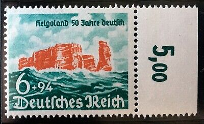GERMANY #B476 MNH. VF centering. $24.00 CV.