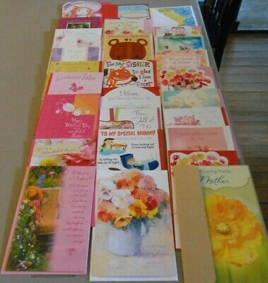 New 41 CARD LOT Mothers Day Greeting Cards American Greeting Bulk Wholesale