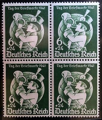 GERMANY #B188 MNH block of 4. VF centering. $22.00 CV.